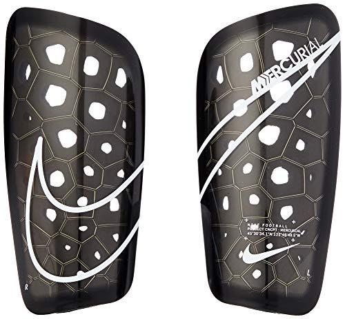 Nike Unisex– Erwachsene Mercurial Lite Schienbeinschoner, Black/White, L