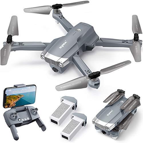 SYMA Faltbare RC Drohne mit Kamera X500 GPS Full HD FPV WiFi Übertragung Live Return Home ferngesteuert...
