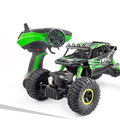 4WD Radio Monster Truck Fernbedienung Auto, Off Road RC Racing Auto 30 km / h Highspeed 2.4 GHz Electric Buggy...