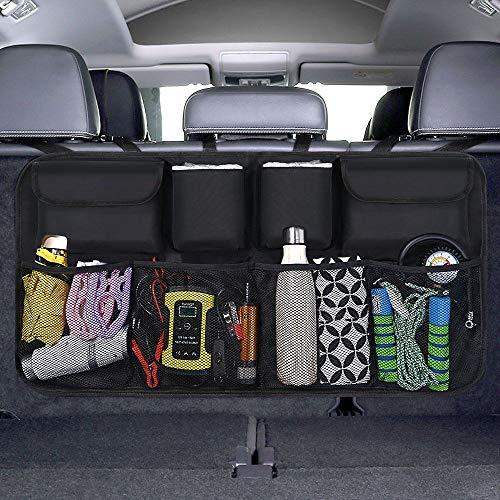 URAQT Kofferraum Organizer Auto, Auto Aufbewahrungstasche, Kofferraumtasche Auto, Wasserdichten Taschen Auto...