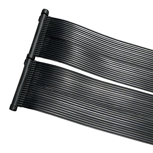 cs-trading ZELSIUS Solarheizung Poolheizung Sonnenkollektor Solarabsorber Solarmatte für Swimming Pool ca....