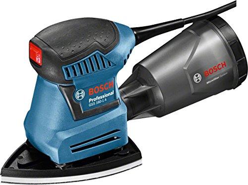 Bosch Professional Schwingschleifer GSS 160-1 A Multi (180 Watt, 1,6 mm Schwingkreis-Ø, in L-BOXX)