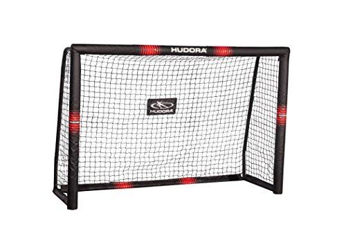 HUDORA 76915,Fußballtor Pro Tect Fußball Tor für Kinder und Erwachsene, Mehrfarbig, 180x120 cm