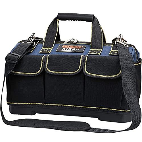 AIRAJ Werkzeugtasche Wasserdichte 42×23×29CM,Multifunktionswerkzeug Einkaufstasche,Elektriker...