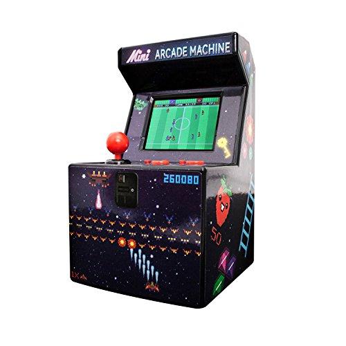 Thumbs Up - 240in1-8Bit Mini Arcade Maschine, Enthält 240 Spiele