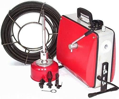 Rohrreinigungsgerät 500W Abflussreiniger 55930 Rohrreiniger 16mm Spirale Abflussreiniger Pömpel AWZ,...