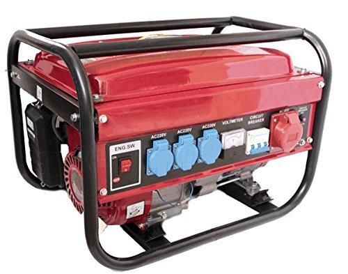 IMOTO Stromgenerator Benzin 230/380V 5500W trifasico monofasico X3Tank 15L