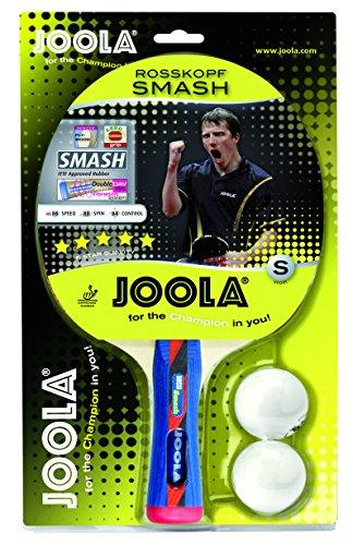 JOOLA Tischtennis-Set ROSSKOPF SMASH Tischtennisschläger Inklusive 2 Tischtennisbälle Mit ITTF Zulassung,...