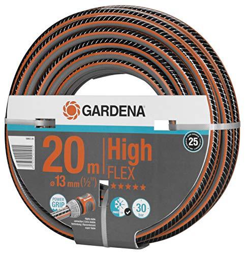 Gardena Comfort HighFLEX Schlauch 13mm (1/2 Zoll), 20 m: Gartenschlauch mit Power-Grip-Profil, 30 bar...