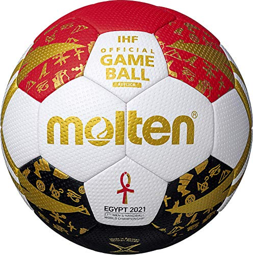 Molten H0X3300-M1E Handball Replika Trainingsball WM 2021 Ägypten