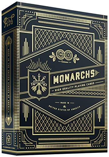 Monarch Spielkarten Schwarz