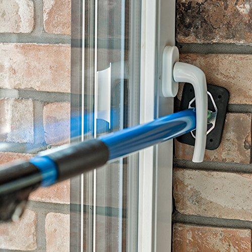 ALLEGRA Sicherungsstange für die Fenstersicherung und Türsicherung, Einbruchschutz für Fenster und Türen...