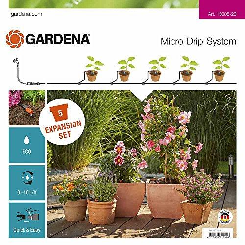 Gardena Erweiterungsset Pflanztöpfe: Das Balkon-Bewässerungssystem erweitert Ihre Micro-Drip-Start Sets...