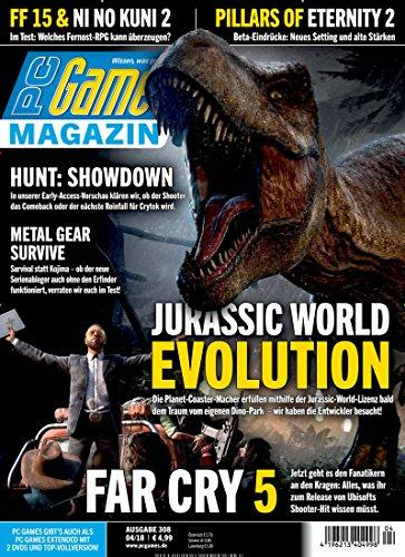 PC Games Magazin [Abonnement jeweils 12 Ausgaben jedes Jahr]