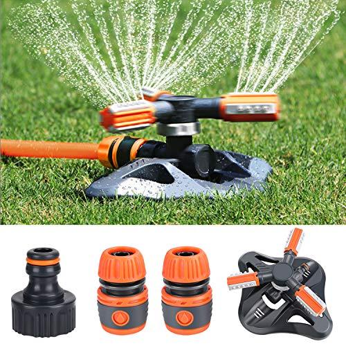 Fixget Garden Sprinkler, verbessertes Rasenbewässerungssystem, automatische...