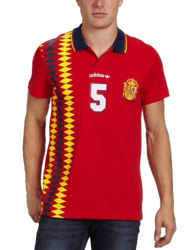 adidas Herren T-Shirt E12 Spain, light scarlet, M, X27970