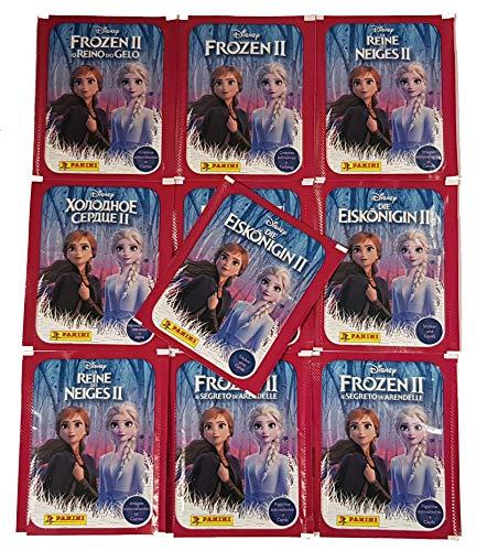 Unbekannt Panini Die Eiskönigin 2 Frozen 2 Sticker & Cards 10 Stickertüten
