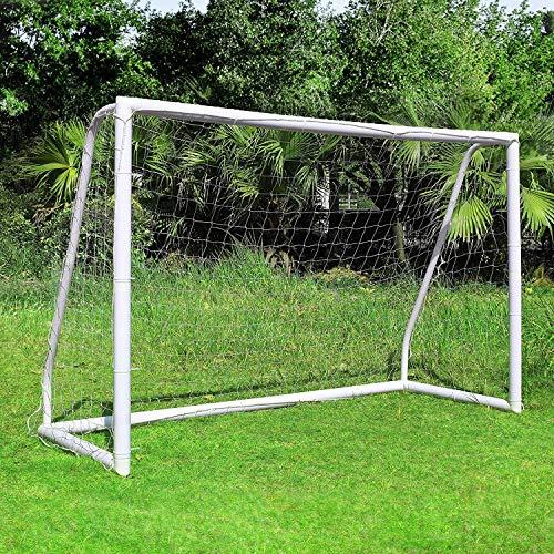 femor Fußballtore, Fußballtor mit einem Klicksystem, Training Fußballnetz für Garten, Innen, Hinterhof,...
