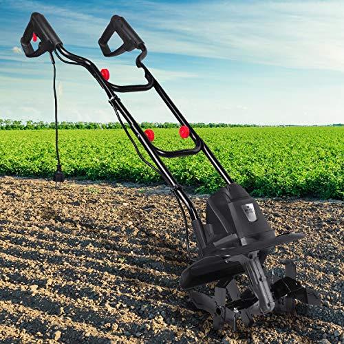 BRAST elektrische Motorhacke 1050 Watt 32cm Arbeitsbreite 16 Hackmesser Ackerfräse Kultivator Gartenfräse...