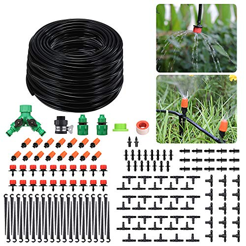 PATHONOR Garten BewässerungsSystem 40M, Bewässerung Kit Tröpfchenbewässerung Gartenbewässerung DIY Micro...