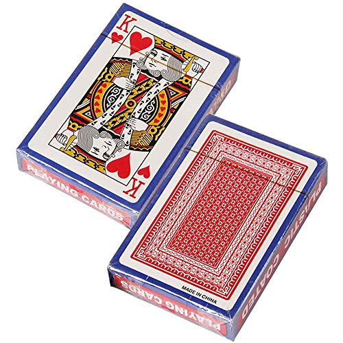 Senbos Standard Spielkarten, 2X Designer Profi Pokerkarten mit Zwei Eckzeichen, Top Qualität für Texas...