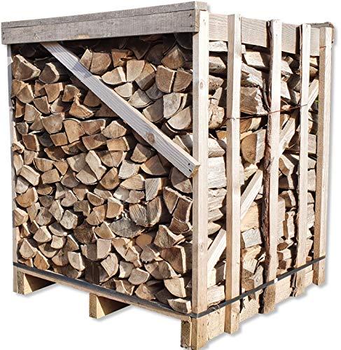 Buche 33cm RM Box Brennholz trocken + UNION Briketts Gratis Kaminholz ofenfertig Holz Feuerholz Scheitholz...