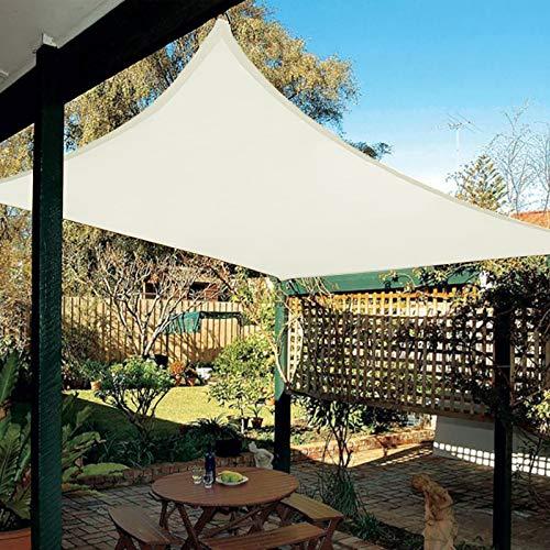 HAIKUS Sonnensegel 3x5 Meter Rechteckig Wasserdicht, 95% UV Schutz Polyester Wasserabweisend Sonnenschutz für...