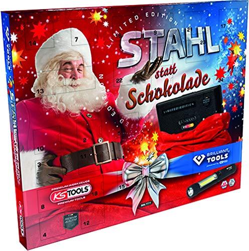 KS Tools 999.7777 Adventskalender Stahl statt Schokolade Limited Edition 2020, bestehend...