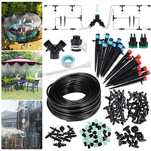 king do way 25M Bewässerung Kit Garten Bewässerungssystem, DIY Micro Automatische Tröpfchenbewässerung mit...