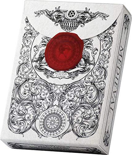 Elephant Playing Cards Medieval Spielkarten, hochwertiges Kartendeck, toll als Zauberkarten & Pokerkarten,...