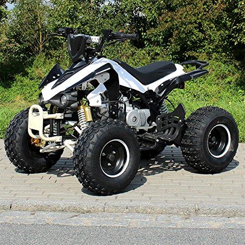 Kinder Quad S-12 125 cc Motor Miniquad 125 ccm wei/schwarz Panthera