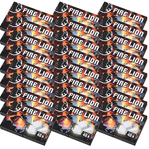 1152x (Stück) Anzündwürfel Kaminanzünder Kohle-Anzünder BBQ-Grillanzünder Ofenanzünder