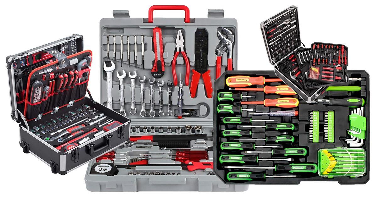 53 Teiliges Werkzeugset Werkzeugkasten Werkzeugkoffer Werkzeugkiste Werkzeug