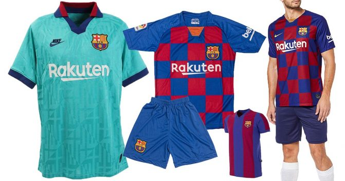 FC Barcelona-Trikots