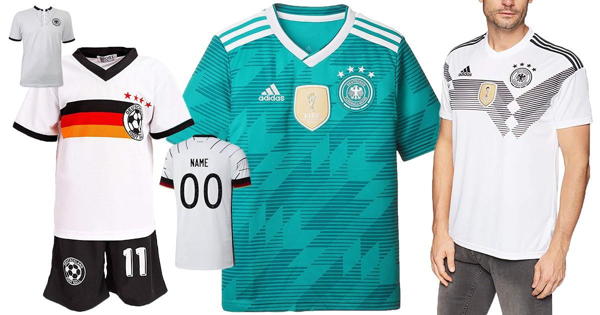 Deutschland-Trikots