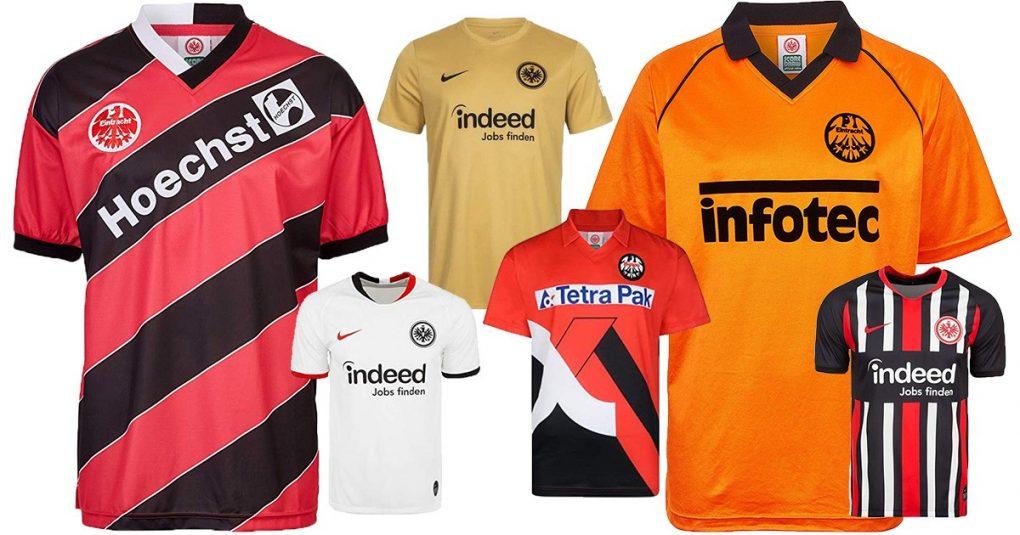 Eintracht Frankfurt-Trikots
