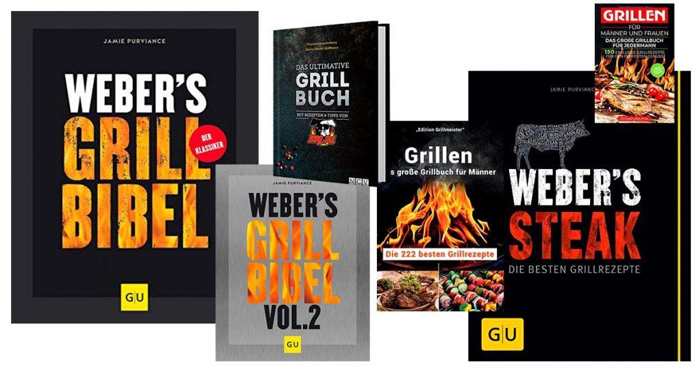 Bücher mit Grillrezepten