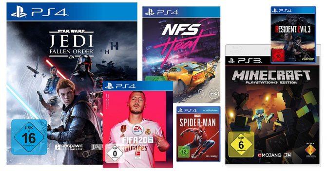 Playstation-Spiele