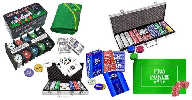 Poker-Sets für Anfänger