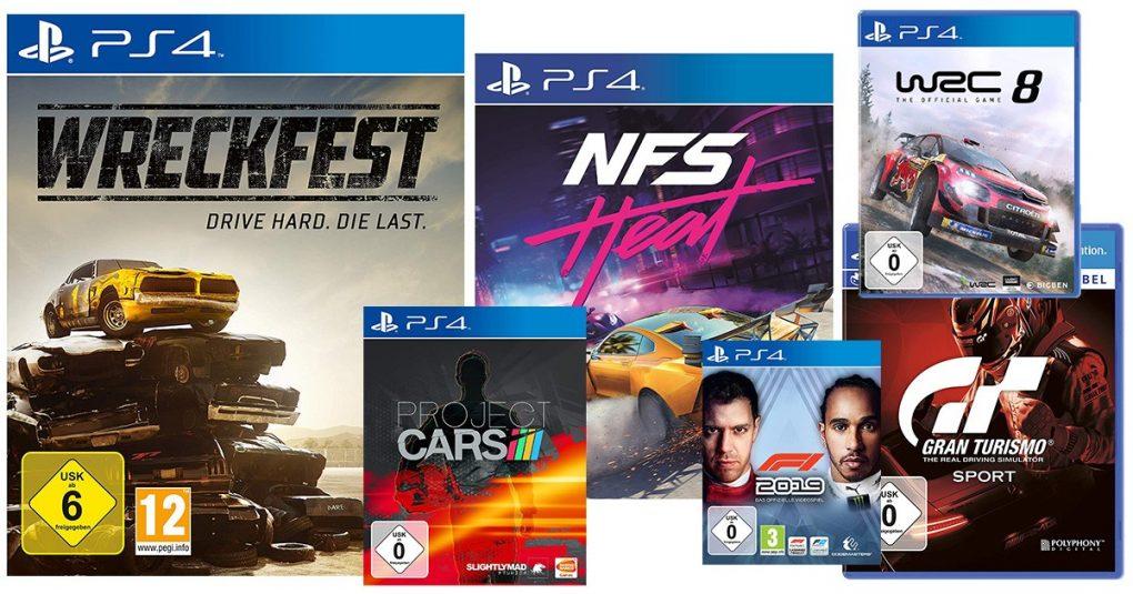PS4-Rennspiele
