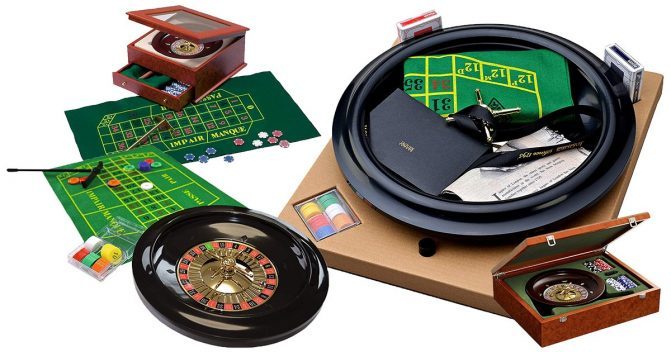 Roulette-Tisch-Sets
