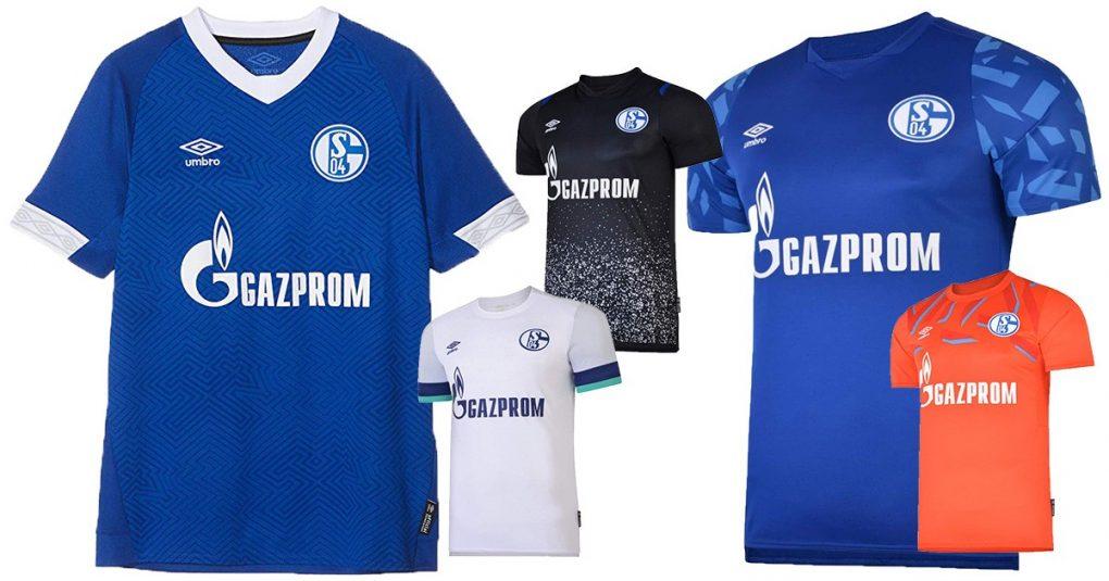 Schalke-Trikots