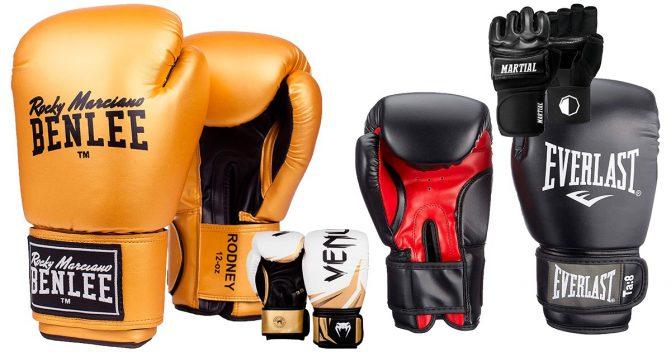 Boxhandschuhe fürs Heimtraining