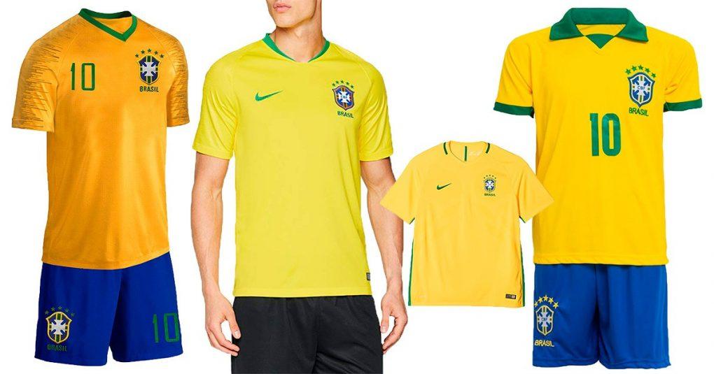 Brasilien-Trikots