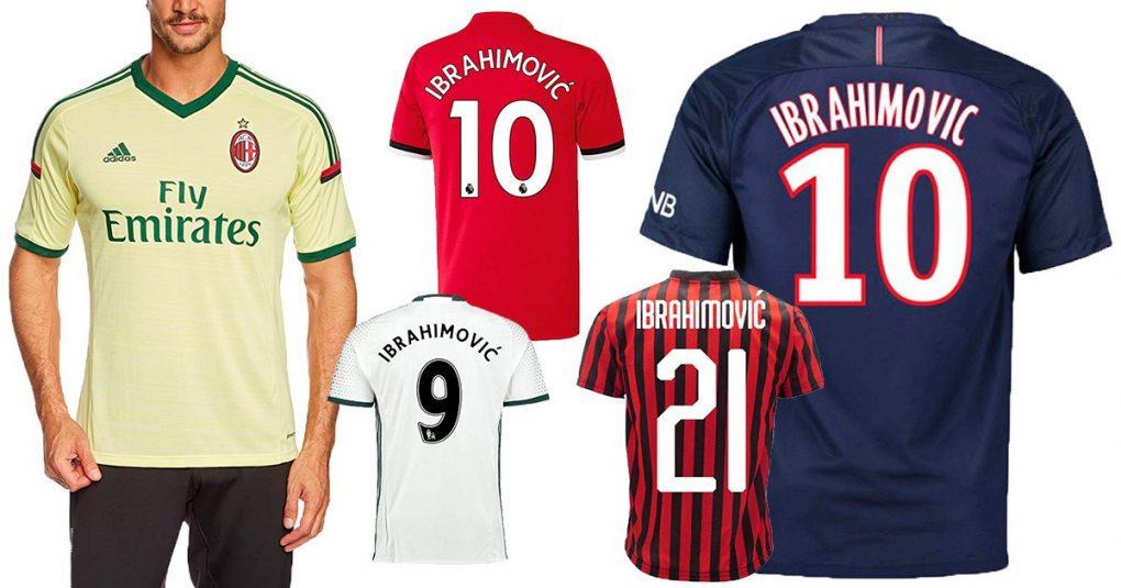 Ibrahimovic-Trikots