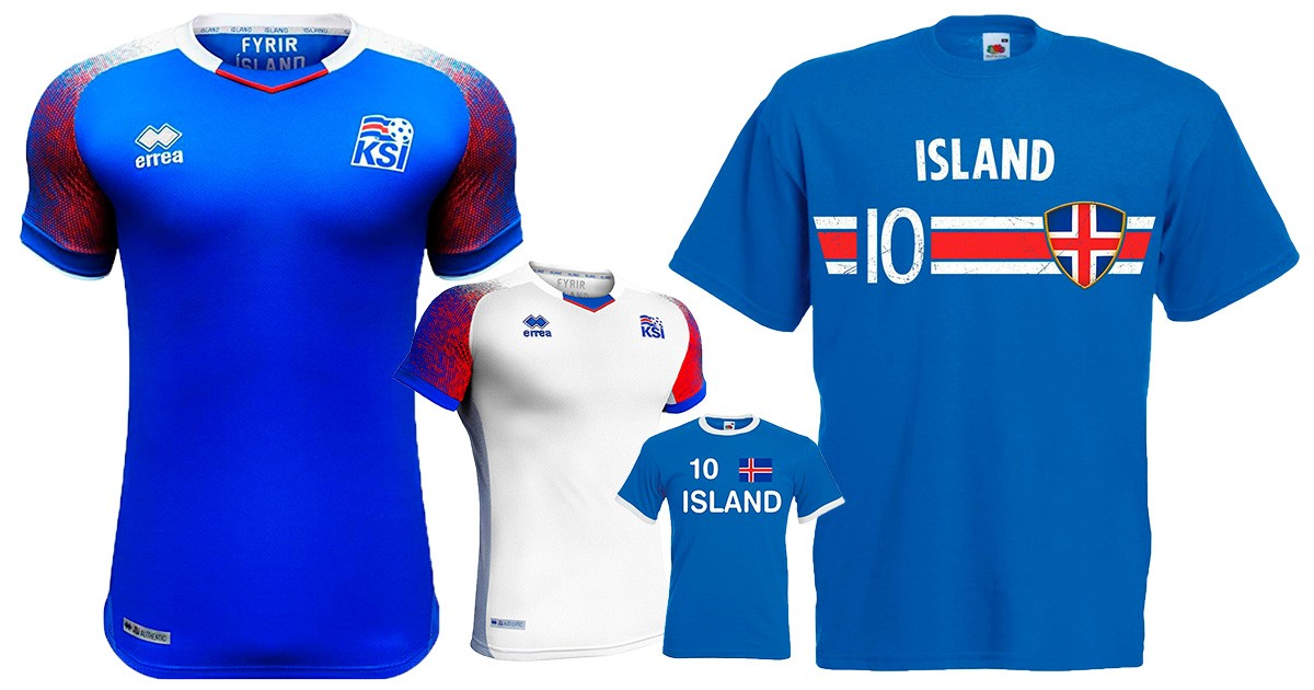 Island Trikot 2021