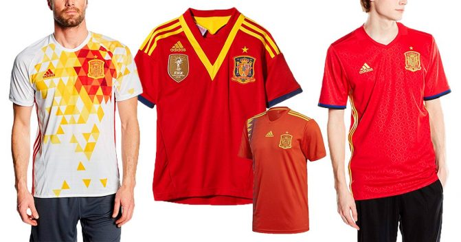 Spanien-Trikots