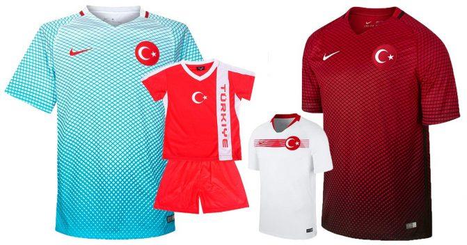 Türkei-Trikots