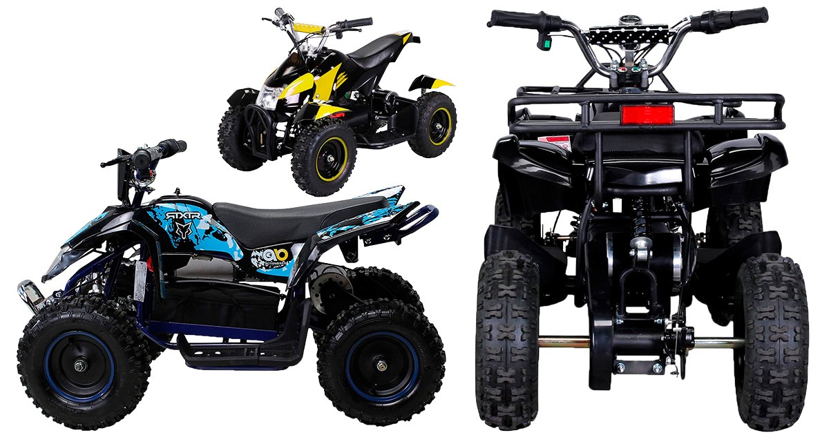 Blau 49cc Kinderquad Repti 4 Miniquad Mini Quad ATV Bike Kinder
