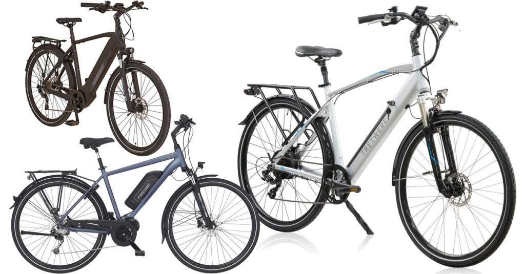 Trekking-E-Bikes